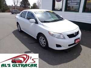 2010 Toyota Corolla CE 5Spd w/ A/C for only $89 bi-weekly!