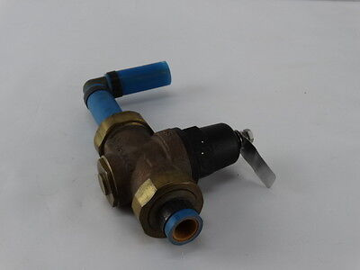 Apollo Water Pressure Reducing Valve Size 1 Adjustment 25 -75 Psi  360-905