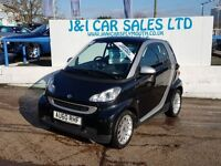 SMART FORTWO 1.0 PASSION MHD 2d AUTO 71 BHP LOW TAX AND PRICED (black) 2010