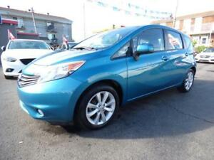 2014 NISSAN VERSA NOTE SL TECH (AUTOMATIQUE, NAVI, MAGS, FULL!!)