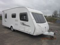 2008 SWIFT CHALLENGER 540 5 BERTH FIXED BED CARAVAN WITH MOTOR MOVER ANDERSON MOTORHOME SALES.