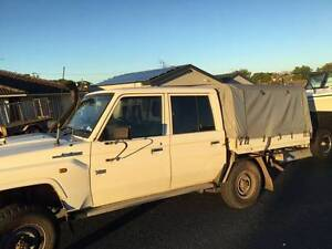 Dual Cab Landcruiser Steel Tray with Canopy and Frame Beldon Joondalup Area Preview