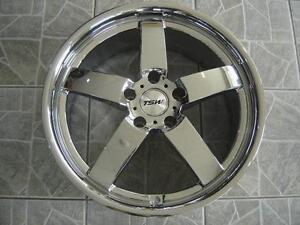 """Kit roues de mag avec pneus neufs 19"""" #M02"""