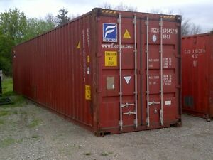 We deliver 40ft steel sea storage shipping containers Cambridge Kitchener Area image 5