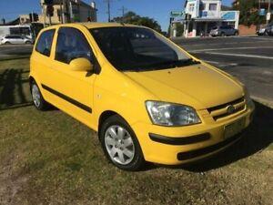 2004 Hyundai Getz TB MY04 GL Yellow Manual Hatchback Yagoona Bankstown Area Preview