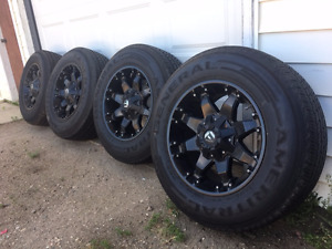 Complete Set of Tires and Rims