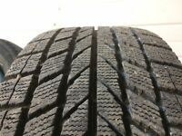 215 55 R16 Toyo snow tires on steel wheels. Set of 4