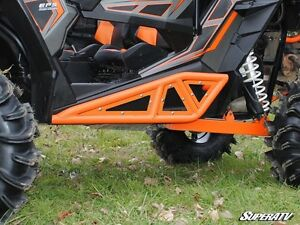 Super atv heavy duty rock slider for Polaris Rzr