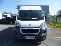 Peugeot Boxer 2.2 Hdi H2 Van 130Ps DIESEL MANUAL WHITE (2014)