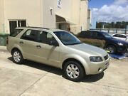 2008 Ford Territory SY MY07 Upgrade TS (RWD) Gold 4 Speed Auto Seq Sportshift Wagon Maroochydore Maroochydore Area Preview