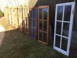 Casement Windows - Lot of 10 Dayboro Pine Rivers Area Preview