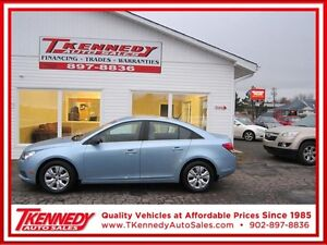 2012 CHEVY CRUZE LS PLUS ONLY $7,988.00 JUST $69.00 B/W OAC