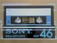 VERY RARE SONY AHF 46 PREMIUM TYPE 1 NORMAL CASSETTE TAPES. 1978-1981. JOB LOT OR SOLO SALES.