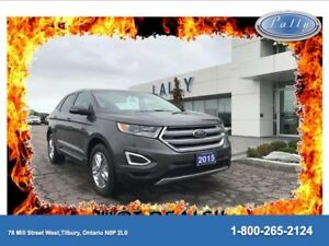 2015 Ford Edge SEL, Leather, Navigation, Moonroof!!