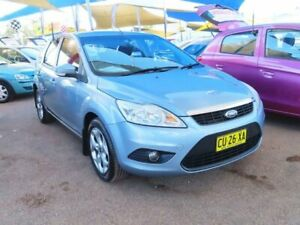 2010 Ford Focus LV LX Blue 4 Speed Sports Automatic Hatchback Minchinbury Blacktown Area Preview