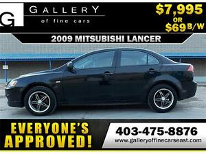 2009 Mitsubishi Lancer $69 BI-WEEKLY APPLY NOW DRIVE NOW