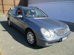 2006 Mercedes-Benz E-Class S211 MY07 E280 CDI Elegance Blue 7 Speed Sports Automatic Wagon