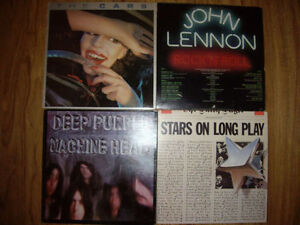 4 old music records for sale
