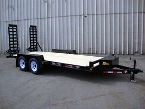 16' Contractor Package Float Trailer - Loaded, Rea