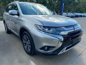 2018 Mitsubishi Outlander ZL MY19 Exceed AWD Silver 6 Speed Sports Automatic Wagon McGraths Hill Hawkesbury Area Preview