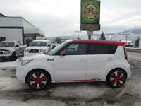 2014 Kia Soul Two-Tone Polar White/Red Kamloops British Columbia Preview