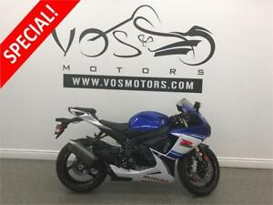 2016 Suzuki GSXR 750- Stock# V2807- Free Delivery in the GTA**