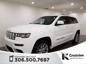 2018 Jeep Grand Cherokee Summit V6 | Leather | Sunroof | Navigat