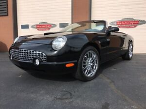 2002 Ford Thunderbird Convertible AS NEW  ONLY 10,400 KMS