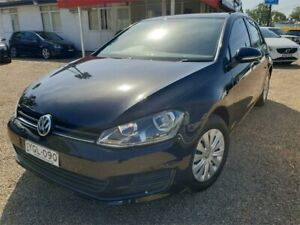 2016 Volkswagen Golf VII MY17 92TSI DSG Black 7 Speed Sports Automatic Dual Clutch Hatchback Sylvania Sutherland Area Preview
