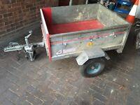 ERDE Car trailer 900mm x 1100 mm