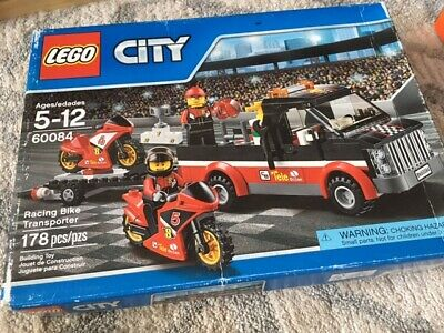 LEGO City - Racing Bike Transporter - 60084 - New in Box sealed