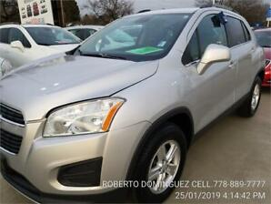 2013 Chevrolet Trax LT AWD ONLY 95297 KM
