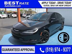 CHRYSLER 200 S - APPROVED IN 30 MINUTES! - ANY CREDIT LOANS