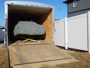 Enclosed Trailer for Vehicle Moving