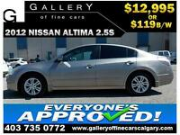 2012 Nissan Altima 2.5S $119  BI-WEEKLY APPLY NOW DRIVE NOW