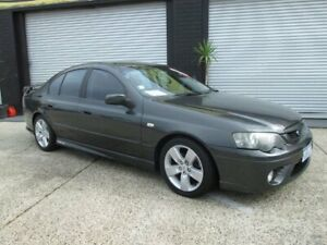 2006 Ford Falcon BF XR6 Grey 3 Speed Auto Active Sequential Sedan