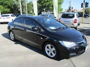 2008 Honda Civic 8th Gen MY08 VTi-L Black 5 Speed Automatic Sedan Bayswater Bayswater Area Preview