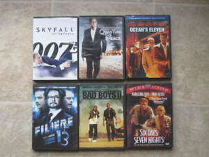 Lot films DVD - avec audio francais - ACTION, POLICIER, THRILLER