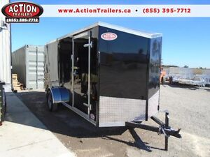 14 FT TRAILER, SINGLE AXLE, RAMP DOOR - SALE PRICING! London Ontario image 1