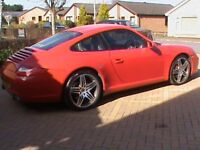 PORSCHE 911 CARRERA 3.8S 2 GEN 2 RED FULL PORSCHE SERVICE HISTORY,CLICK ON VIDEO LINK TO SEE MORE