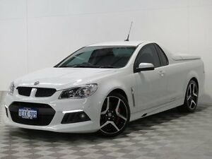 2013 Holden Special Vehicles Maloo GEN F R8 White 6 Speed Manual Utility Jandakot Cockburn Area Preview