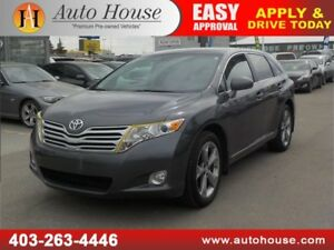 2011 TOYOTA VENZA V6 AWD LEATHER HEATED SEATS BCAM ROOF