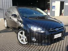 2011 Ford Focus LW Titanium Black 6 Speed Automatic Hatchback Albert Park Charles Sturt Area Preview