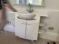 Bathstore bathroom sink and vanity unit