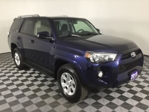 2015 Toyota 4Runner SR5 w/LOW KMS, NEW BRAKES, RUNNING BOARDS