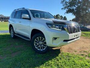 2018 Toyota Landcruiser Prado GDJ150R VX White 6 Speed Sports Automatic Wagon Prospect Prospect Area Preview
