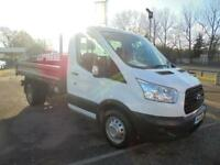 Ford Transit 2.2 Tdci 125Ps Chassis Cab DIESEL MANUAL WHITE (2015)