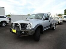 2009 Isuzu D-MAX MY09 EX Silver 5 Speed Manual Cab Chassis West Ballina Ballina Area Preview