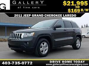 2011 Jeep Grand Cherokee Laredo 4x4 $169 bi-weekly APPLY NOW