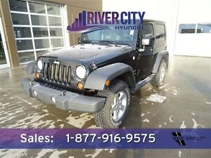 2010 Jeep Wrangler 4WD SPORT HARD TOP A/C,